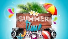 Short holiday in summer